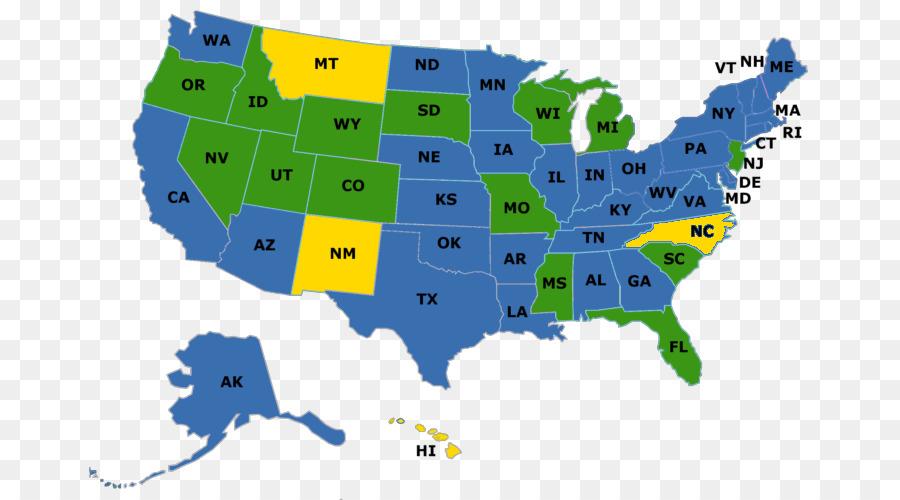 Bundesstaaten Usa Karte.Usa Vektor Karte Der Us Bundesstaaten Gründerväter Der Vereinigten