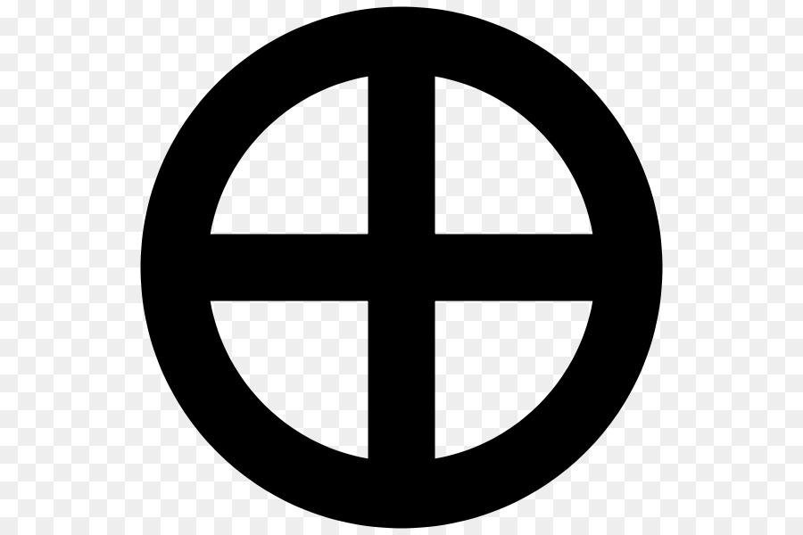 Symbol Sengan En Sun Cross Earth символы Png Download 600600