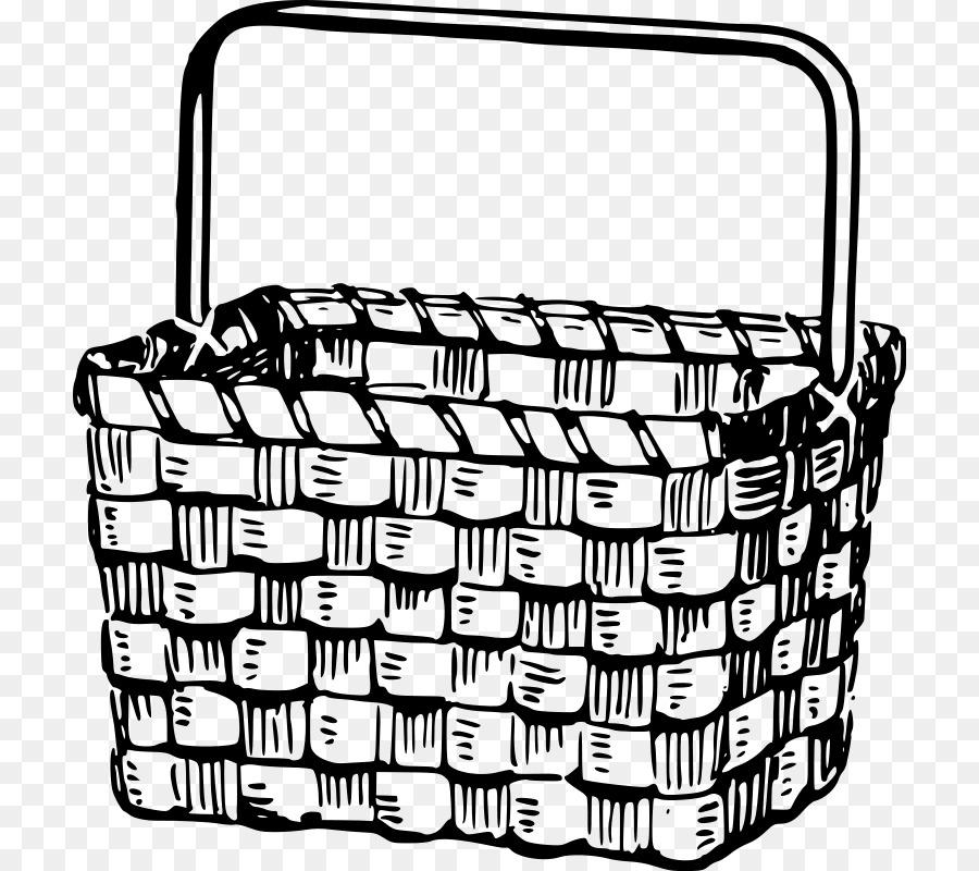 Libro para colorear de Cestas de Picnic cesta de Pascua de Dibujo ...