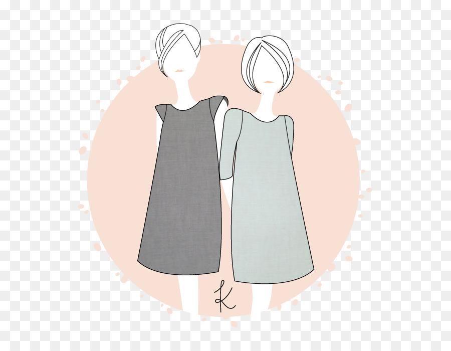 Vestido camiseta de Coser de Patrón de la Blusa - vestido png dibujo ...