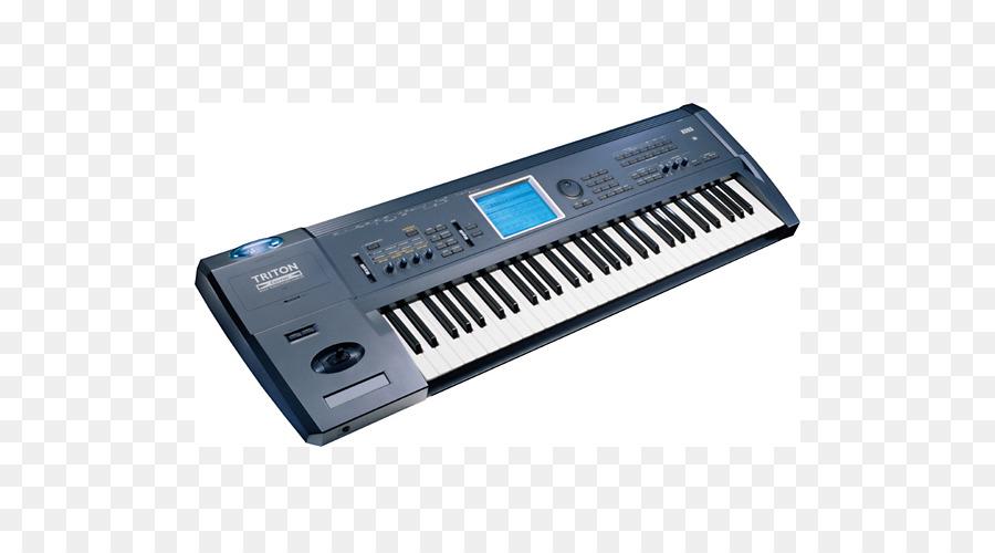 microKORG Korg Triton Sound Synthesizers Keyboard - keyboard png