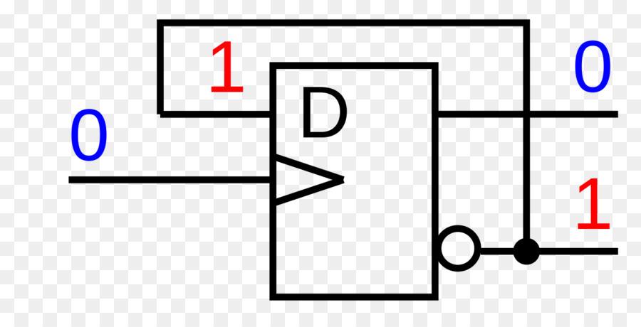 Flip Flop Schmitt Trigger Electronic Circuit Electronic Symbol Logic
