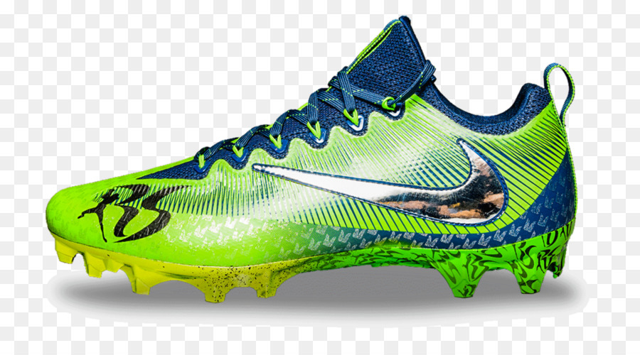 f76211856043 Cleat Seattle Seahawks NFL Nike Shoe - Russell Wilson png download ...