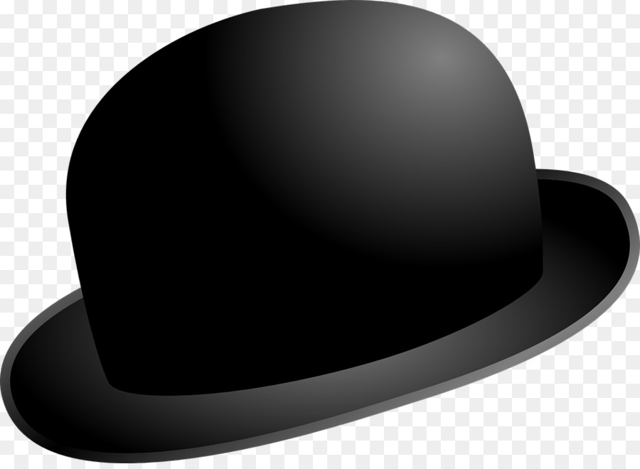 ed788b6caea5f Bowler hat Top hat Clip art - Hat png download - 960 695 - Free ...