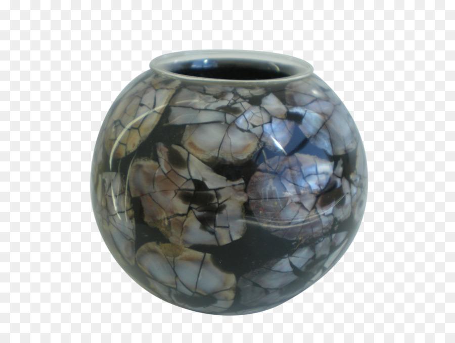 Inlay Ceramic Vase Glass Seashell Shell Australia Png Download