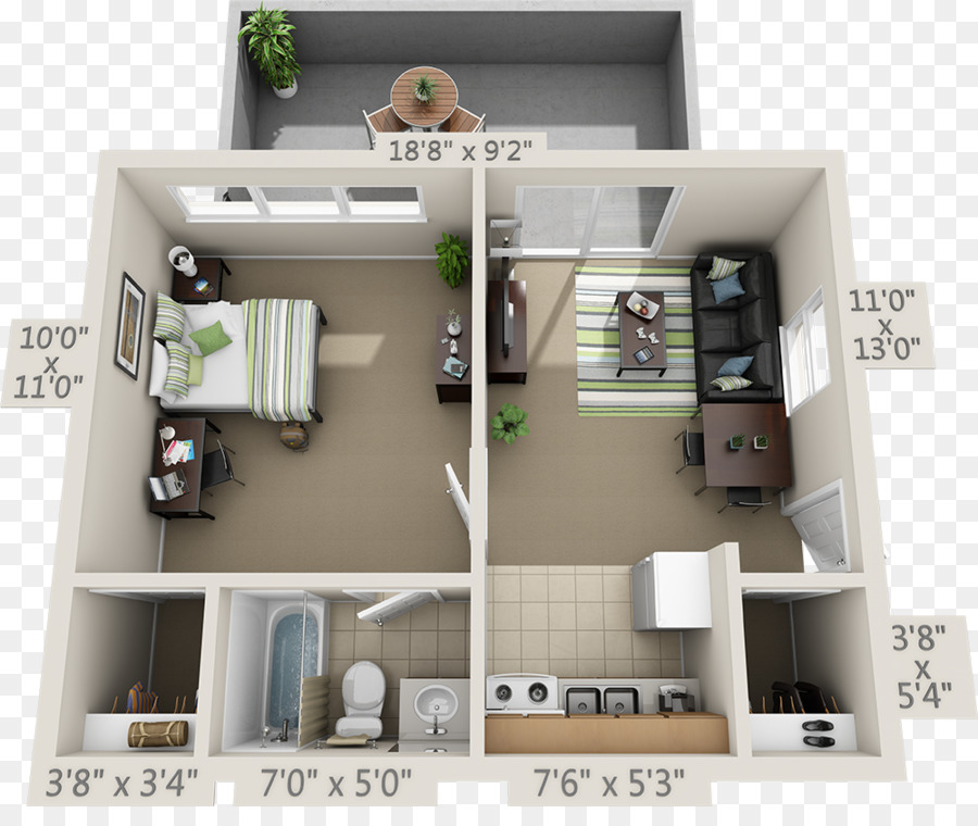 College Park Apartments Floor Plan House Bedroom