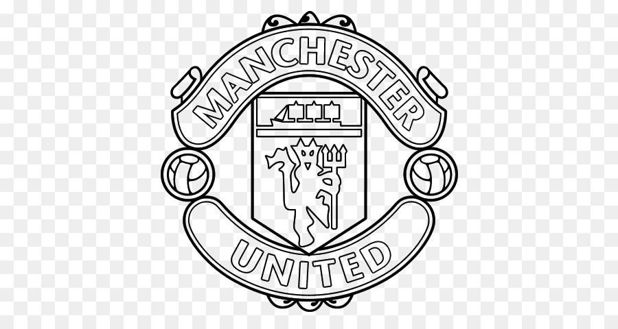 El Manchester United F. C. libro de Colorear de Fútbol Manchester ...