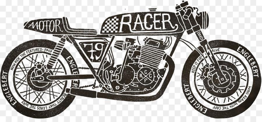 Café Racer Triumph Motorcycles Ltd Car Motorcycle Png Download