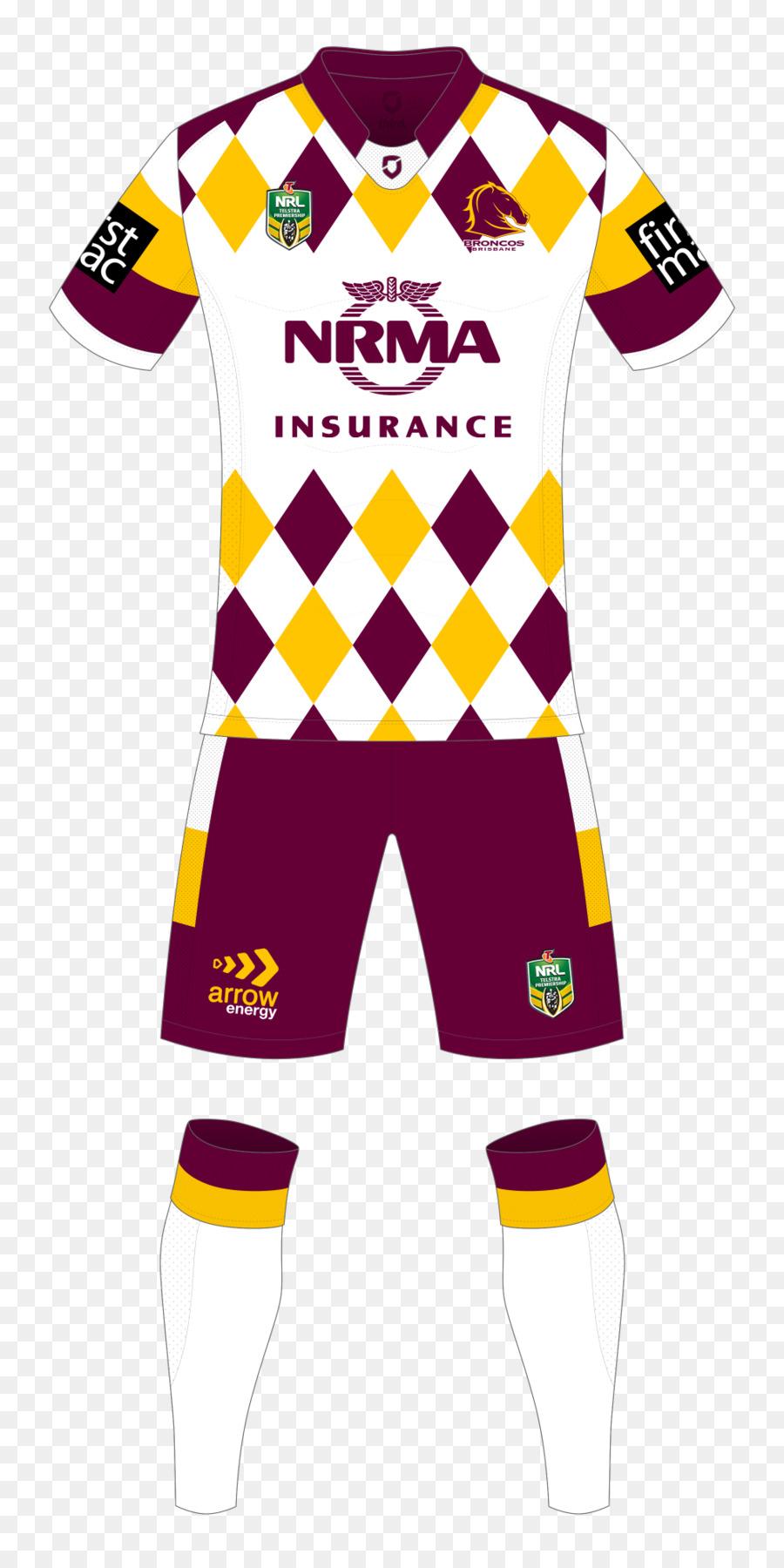 Brisbane Broncos Penrith Panthers Sport Jersey T-shirt - Brisbane Broncos 3029d843a