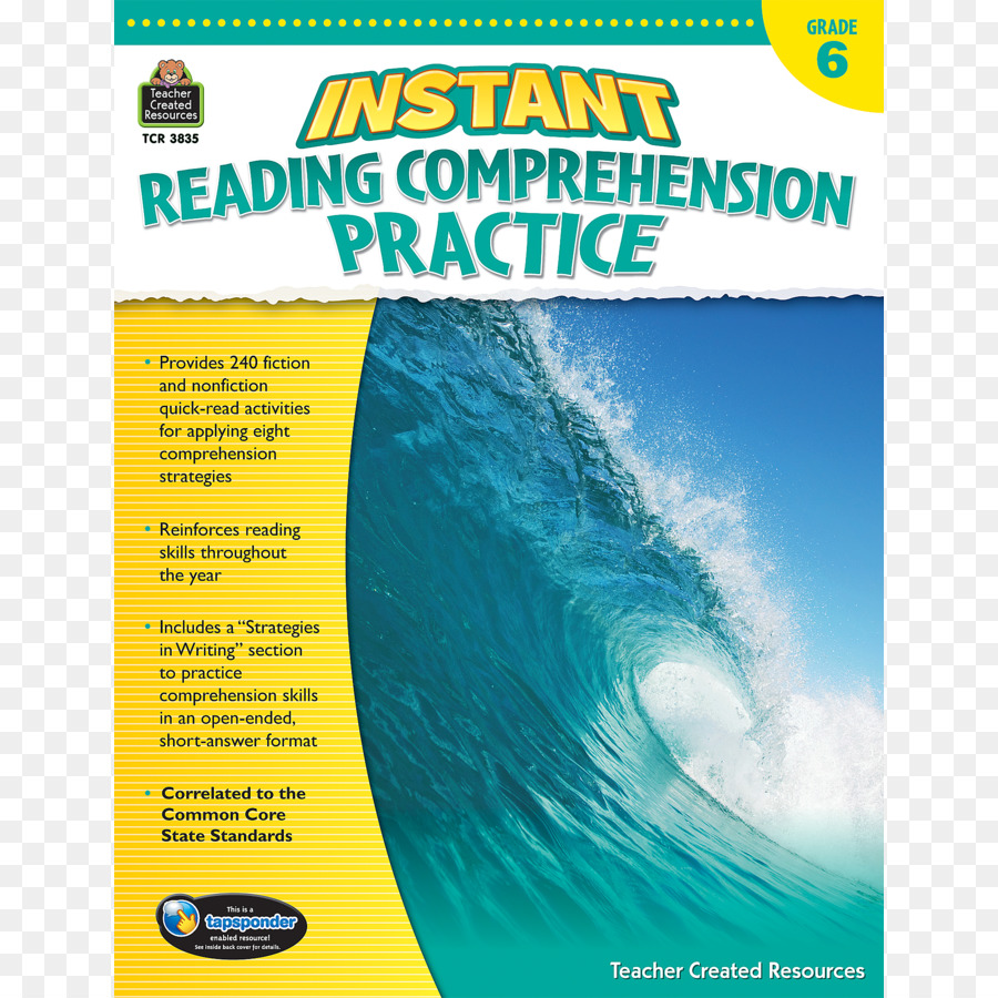 - Reading Comprehension Test Book Grading In Education - Reading