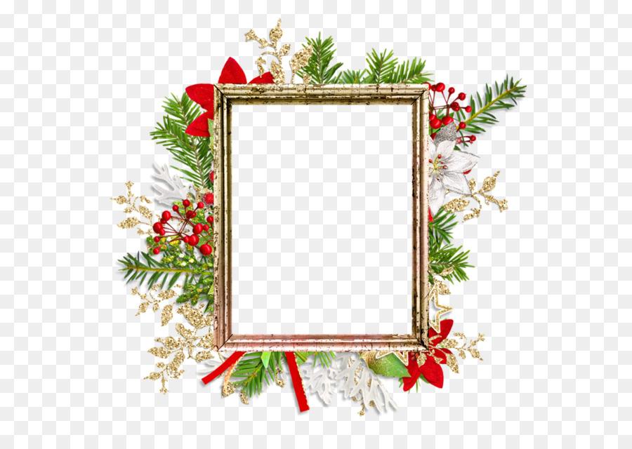 Papel de Marcos de fotos de Navidad, ornamento - la navidad Formatos ...
