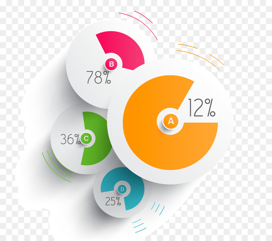 Pie Chart Infographic Diagram Design Png Download 800800 Free