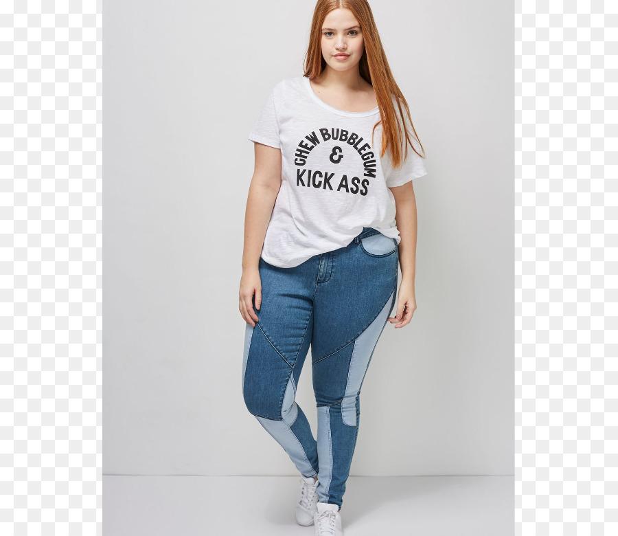 ca85c28e02 Jeans Plus-size clothing T-shirt Lane Bryant Clothing sizes - Plus ...