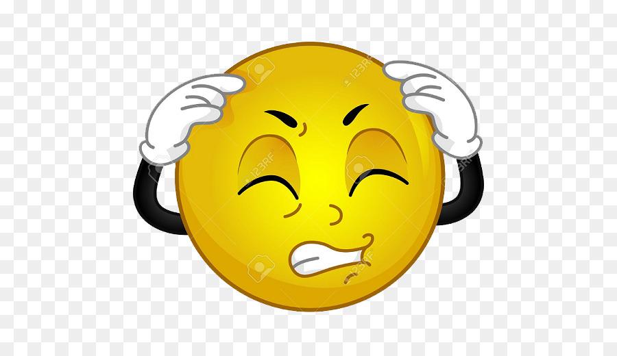 Emoticon Smiley Headache Emoji Smiley Png Download 512512