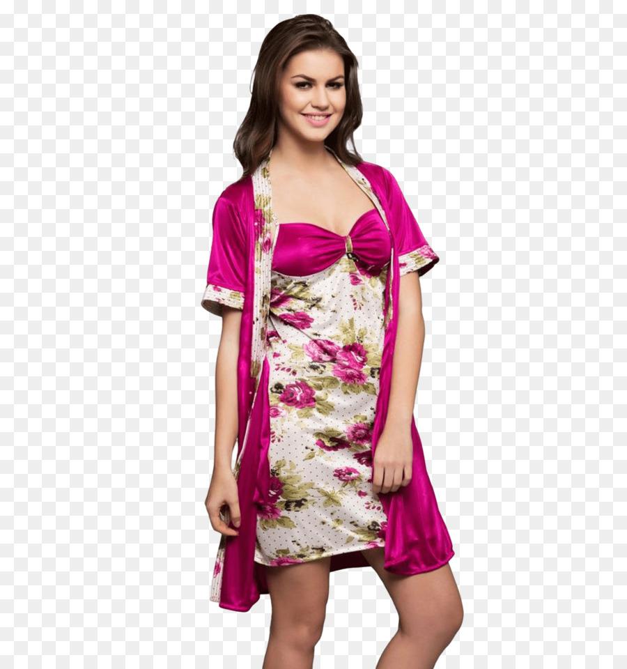 Nightwear Nightgown Wedding dress Babydoll - dress png download ...