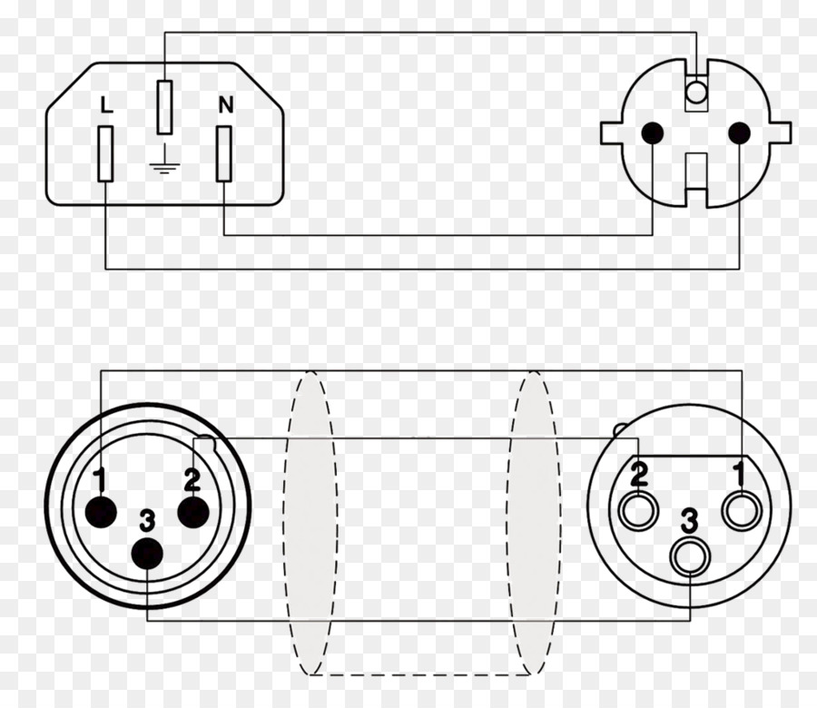 microphone xlr connector wiring diagram electrical cable schuko rh kisspng com