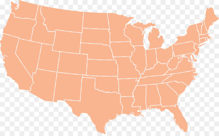United States Vector Map U.S. state - united states png download ...