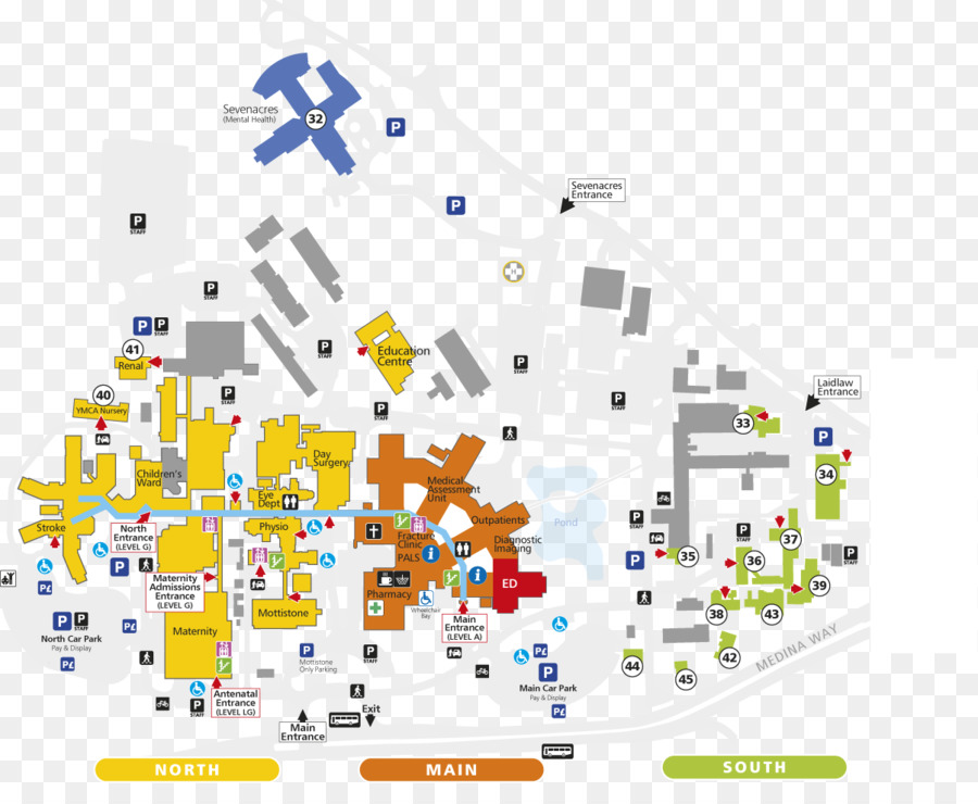 St Mary\\\\\\\'s Hospital Map Hospital Line png download   1204*965   Free Transparent Hospital
