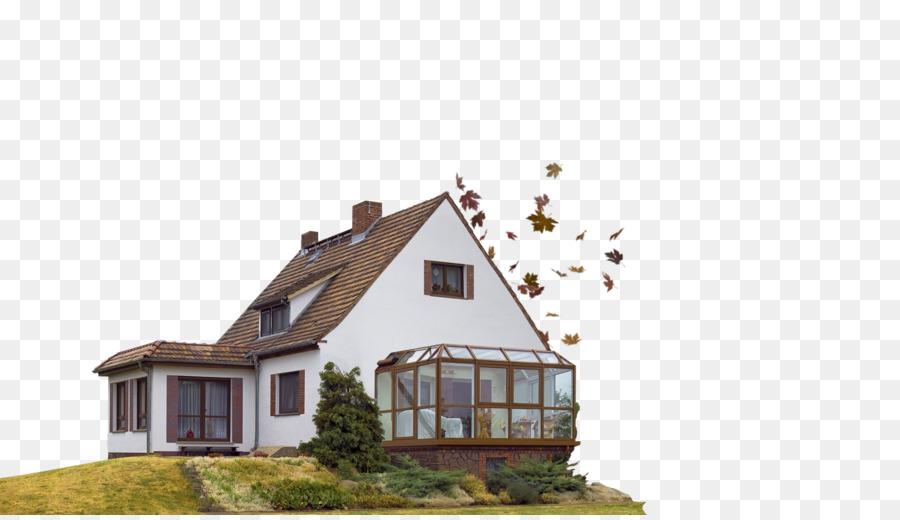 Dach Haus Balkon Terrasse Fassade Haus Png Herunterladen 1590