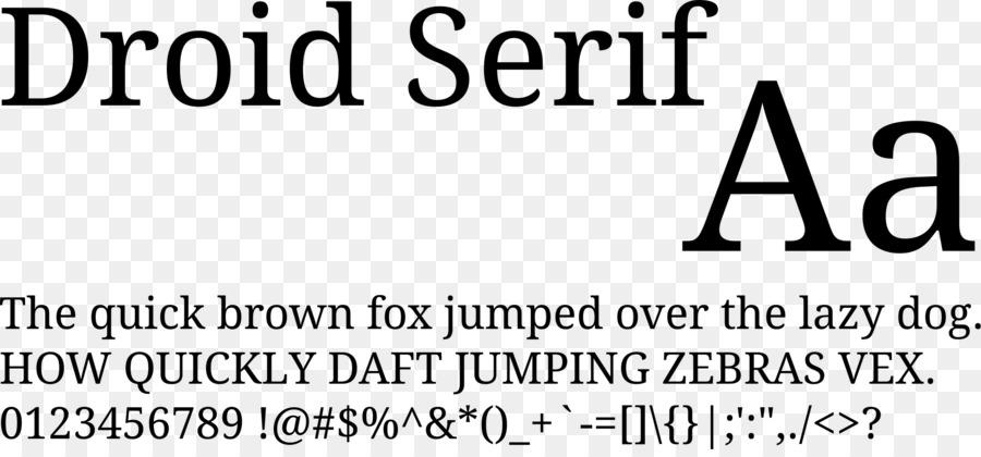 Droid Fonts Text png download - 2000*917 - Free Transparent Droid