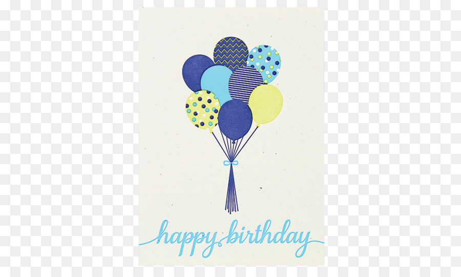 Balloon Greeting Note Cards Papyrus Birthday Gift Balloon Png