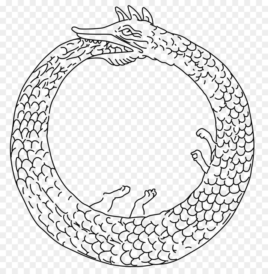 Ouroboros Wikipedia Snake Tattoo Png Download 20002044 Free