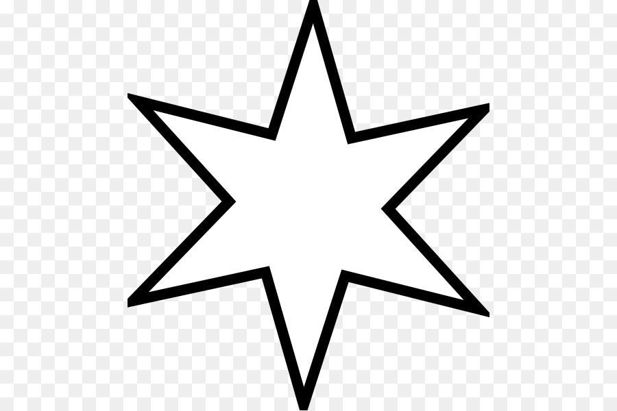 Yıldız Boyama Kitabı Enneagram Küçük Resim Yıldız Png Indir 528