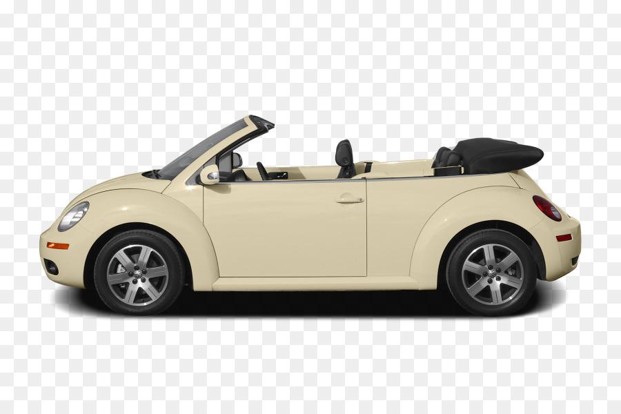 2008 Volkswagen New Beetle Convertible Car 2010 Png 900 594