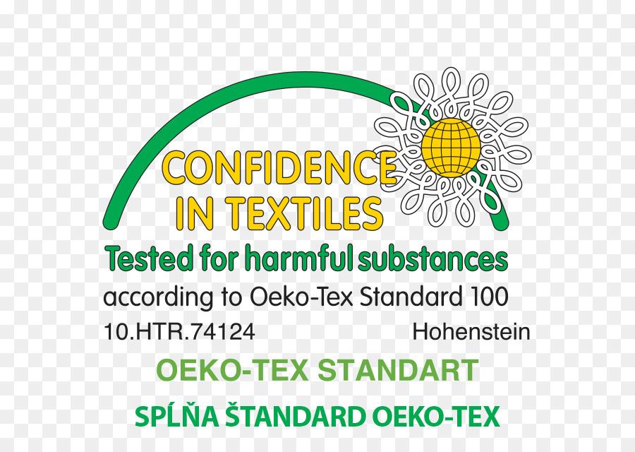 Oeko Tex Textile Technical Standard Certification Begonia Png