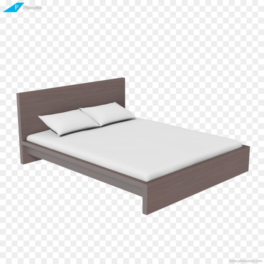 Estructura de cama con somier, Colchón de la Cama de Hojas de ...