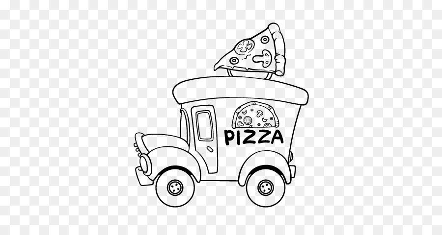 Pizza Hut comida Chatarra para Colorear libro - Colorante De ...