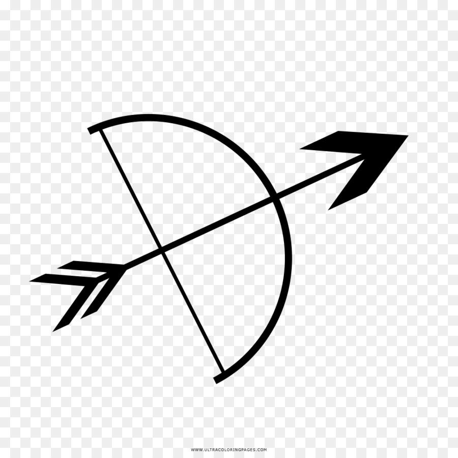 Arco y flecha Dibujo para Colorear Festival del libro - Flecha ...