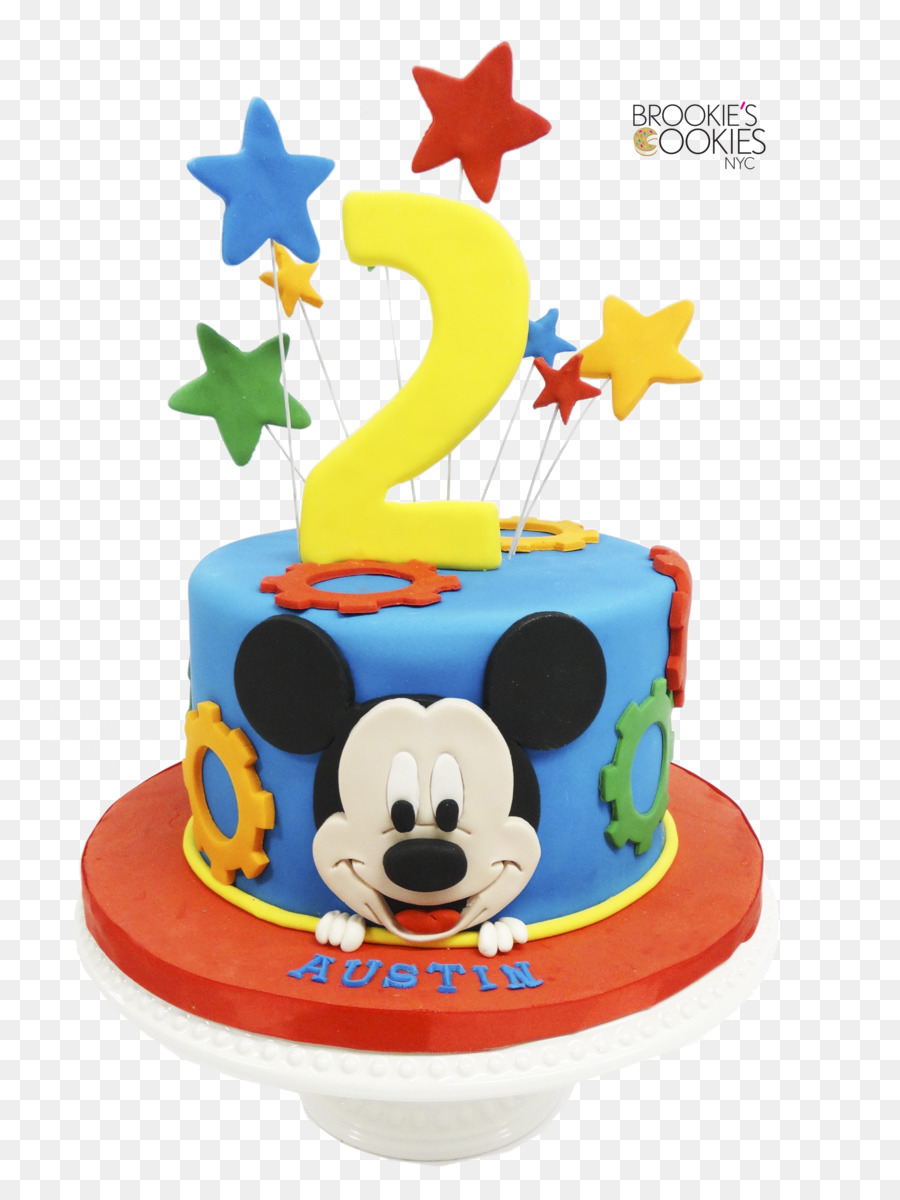 Birthday Cake Cupcake Mickey Mouse Cookie Cake Lekach Mickey Mouse