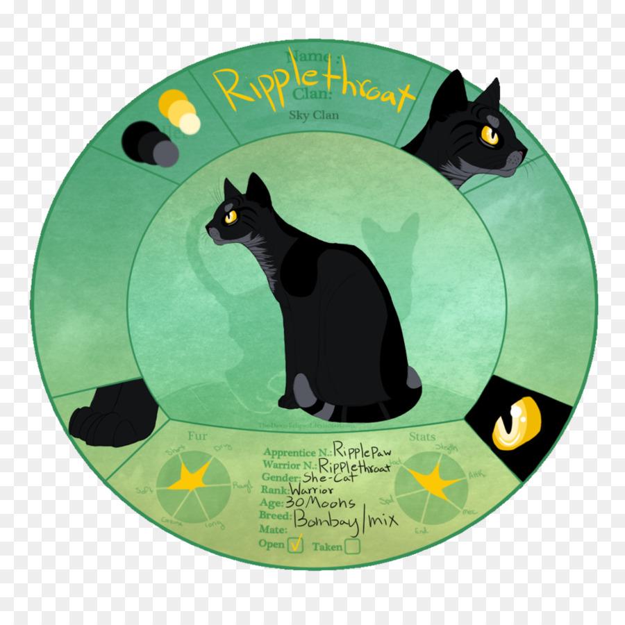 cat christmas ornament cat - Black Cat Christmas Ornament