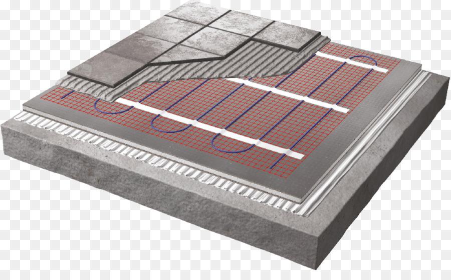 Underfloor Heating Heating System Tile Flooring Sea Floor Png