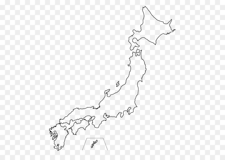 Japan Blank map World map - japan png download - 640*640 - Free ...