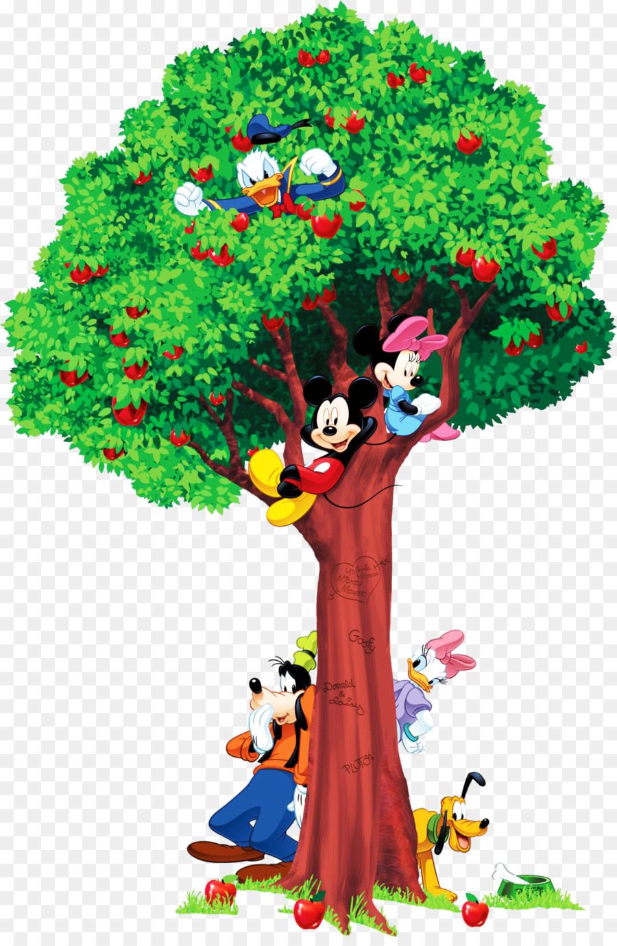 Mickey-Maus-Universum Minnie Maus Wachstum chart Wandtattoo - mickey ...