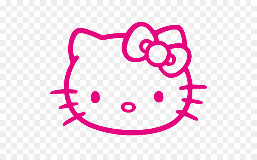 Hello Kitty Wall Decal Bumper Sticker Design Png Download 550