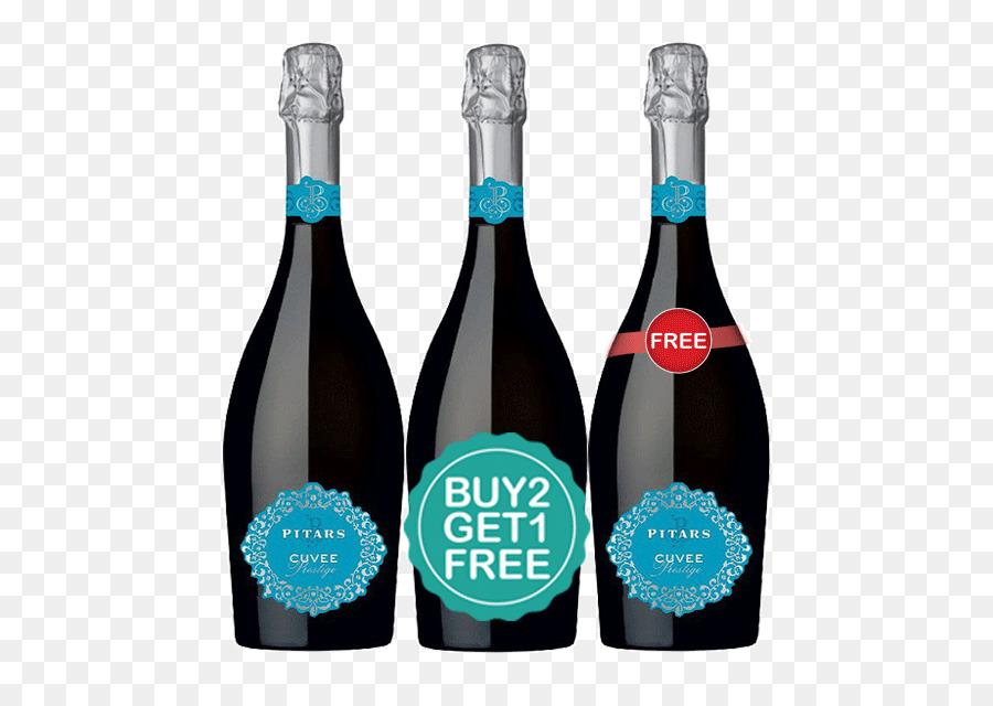 Champagne, Sparkling wine Prosecco Glera - membeli 1 mendapatkan 1 gratis