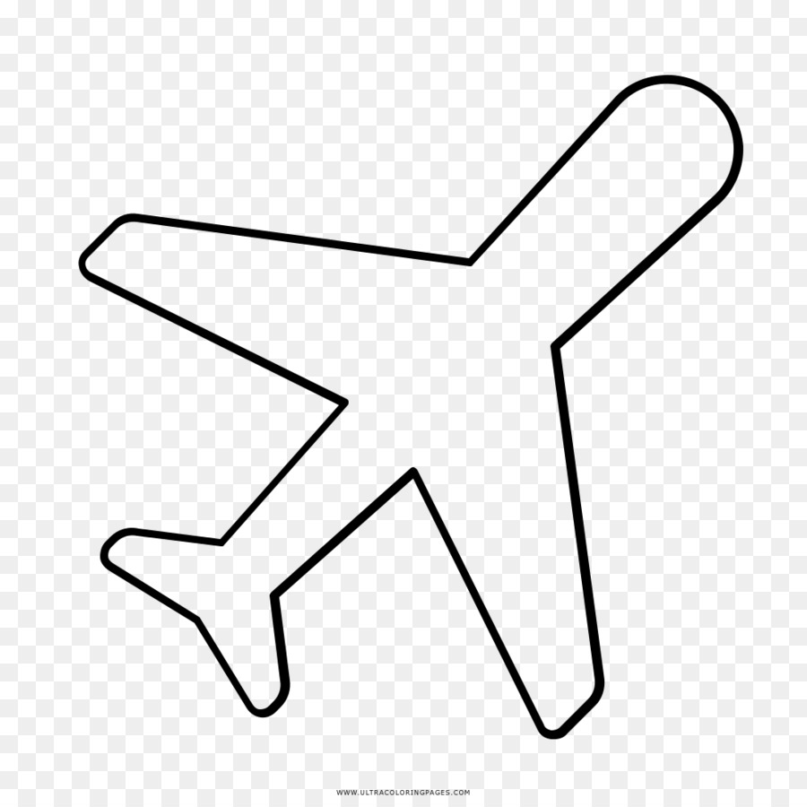Airplane Drawing Coloring book - airplane png download - 1000*1000 ...