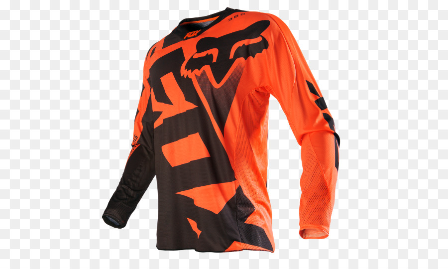 004c10a5c Cycling jersey Fox Racing Motocross Orange - motocross png download - 540  540 - Free Transparent Cycling Jersey png Download.