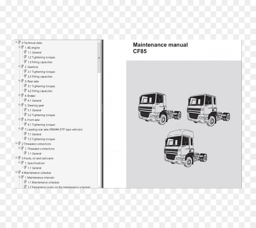 Daf Trucks Daf Xf Daf Lf Wiring Diagram Truck Png Download 800