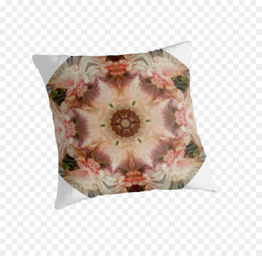 Throw Pillows Cushion Flower Angels Trumpets Pillow Png Download