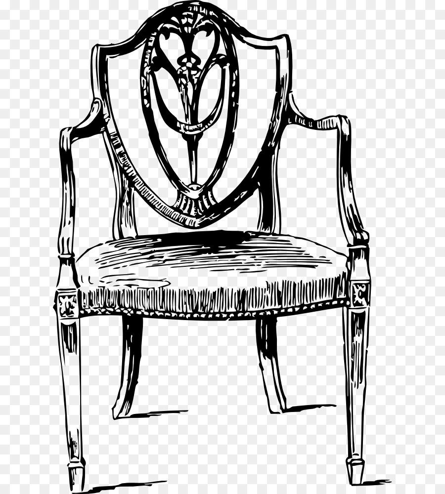 Nº 14 de la silla de Mesa de muebles Antiguos de Dibujo - silla ...