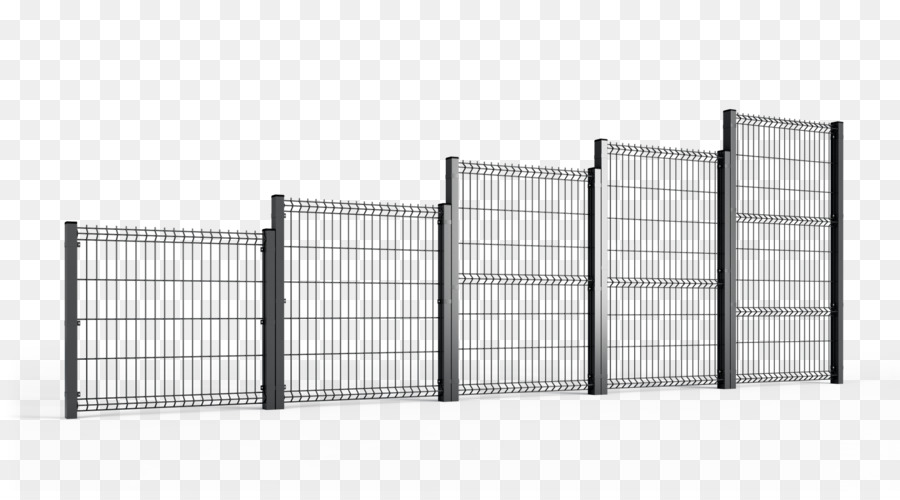 Steel Fence Guard rail Metal Wire - Fence png download - 1920*1047 ...