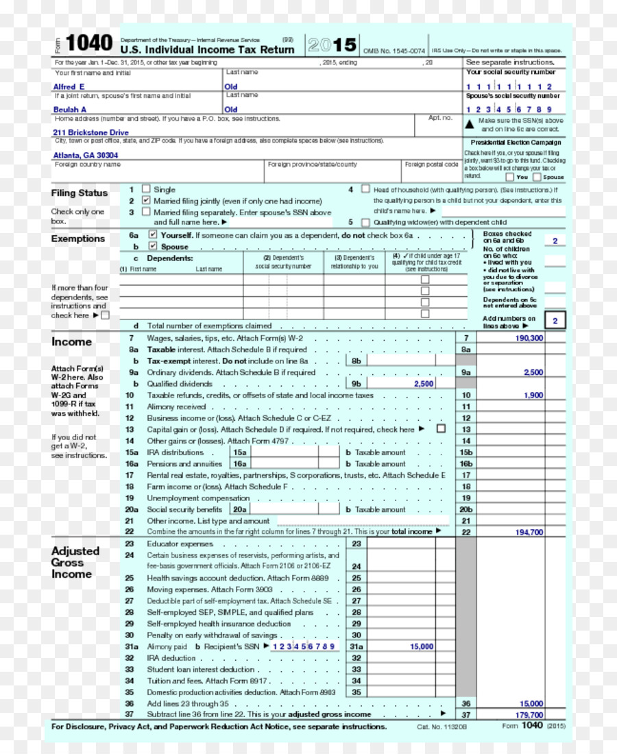 Form 1040 Irs Tax Forms Internal Revenue Service Tax Return Tax