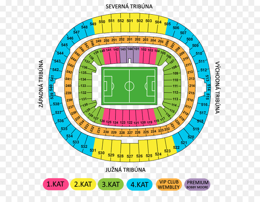 Wembley Stadium Wembley Arena M&T Bank Stadium Seating assignment ...