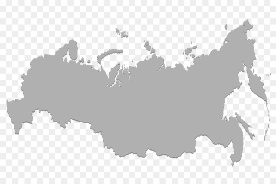Russia Map Royalty Free