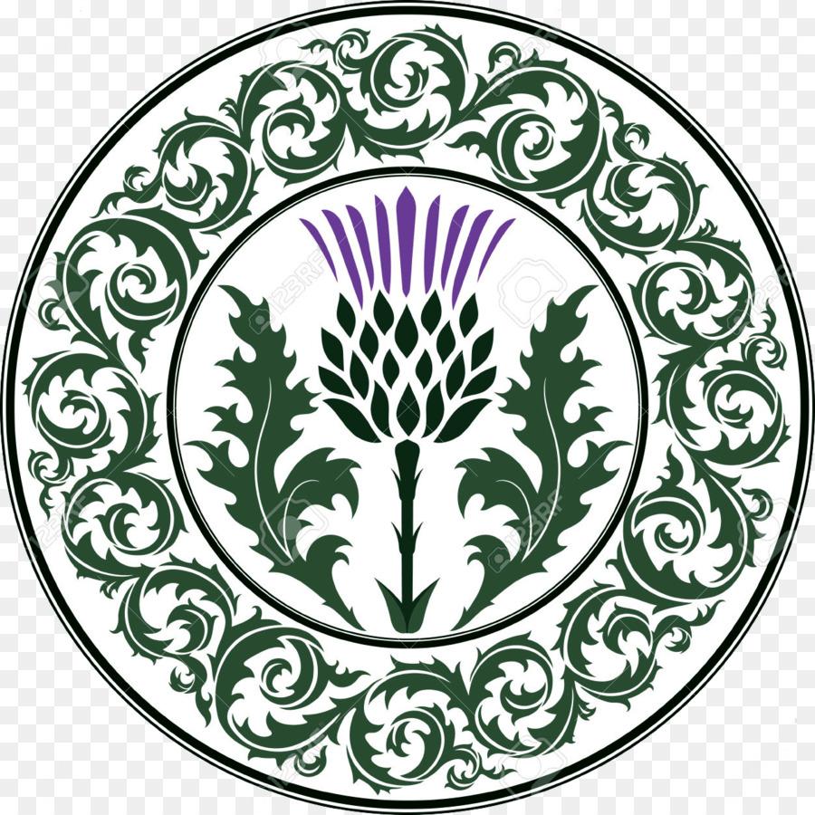National Symbols Of Scotland Thistle Clip Art Lallybroch Png