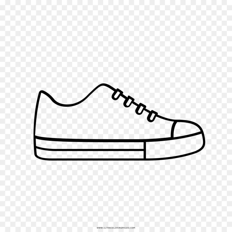 Sepatu Gambar Sepatu Mewarnai Buku Converse Tenis Unduh Alas